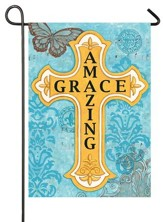 Amazing Grace, Cross Flag, Small