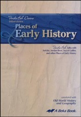 Places of Early History with Uncle Bob (Bible Geography) Audio CD