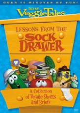 Lessons from the Sock Drawer: A Collection of Veggie Shorts and Briefs, VeggieTales DVD
