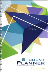 Well-Planned Day Student Planner (Tech Style, July 2015 -  June 2016)