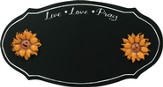 Live, Love, Pray Magnetic Chalkboard