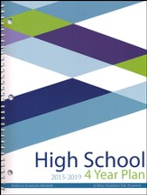 A Well-Planned Day High School 4 Year Planner (July 2015 -  June 2019)