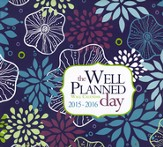 The Well-Planned Day Wall Calendar (July 2015 - June 2016)