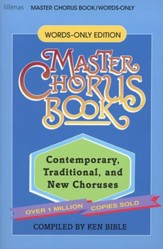 Master Chorus Book (Words-only Edition)