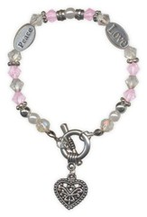 Abundant Blessings Bracelet, Heart