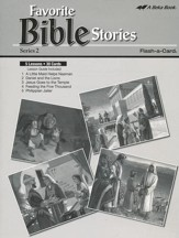 Extra Favorite Bible Stories Series 2 Lesson Guide