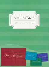 Christmas Greetings Christmas Cards, Box of 12