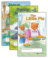 The A Beka Reading Program Supplementary K5 Readers: Friends and Helpers Readers (3 Book Set)
