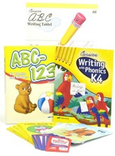 K4 Homeschool Child Full-Grade Kit (Cursive Edition)