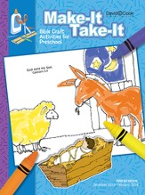 Preschool, Make It Take It (Craft Book), Winter 2013
