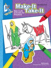 Bible-in-Life Preschool Make It Take It, Winter 2014-15