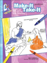 Bible-in-Life Early Elementary Make It Take It, Winter 2015-16