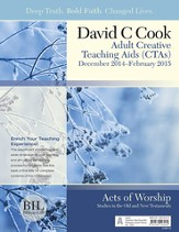 Bible-in-Life Adult Comprehensive Bible Study Creative Teaching Aids, Winter 2014-15