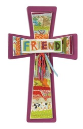 Friend Wall Cross