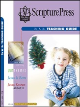 Scripture Press 2s & 3s Teaching Guide, Winter 2014-15