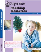 Scripture Press 2s & 3s Teaching Resources, Winter 2014-15
