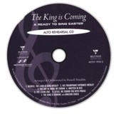 The King Is Coming (Alto Rehearsal Track CD)