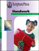 Scripture Press 4s & 5s Handwork (Craftbook), Winter 2014-15