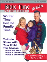 Scripture Press 4s & 5s Bible Times Take-Home, Winter 2014-15