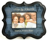 Personalized, Always and Forever, Photo Frame, Blue