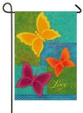 Butterfly Garden Flag, Small