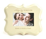 Personalized, Always and Forever, Photo Frame, White