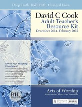 Bible-in-Life Adult Comprehensive Bible Study Teacher's Resource Kit, Winter 2014-15