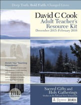 Bible-in-Life Adult Comprehensive Bible Study Teacher's Resource Kit, Winter 2015-16