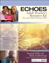 Echoes Adult Comprehensive Bible Study Teacher's Resource Kit, Winter 2015-16