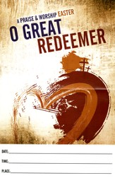 O Great Redeemer: A Praise & Worship Easter (Posters 12 Pack)