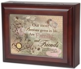 Most Precious, Family and Friends, Genesis 28:15, Jewelry Box