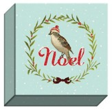 Noel Christmas, Canvas Plaque