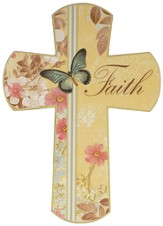 Faith Butterfly Cross