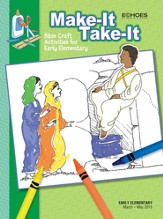 Echoes Early Elementary Make-It Take-It (Craft Book), Spring 2015