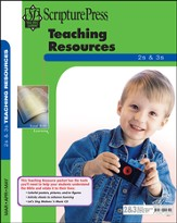 Scripture Press 2s & 3s Teaching Resources, Spring 2014