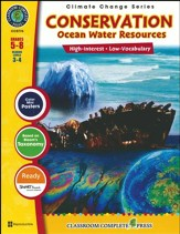 Conservation: Ocean Water Resources Grades 5-8