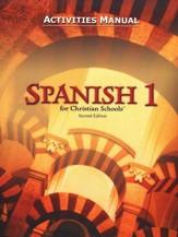 BJU Spanish 1 Student Activities Manual (Second Edition)