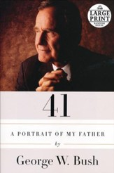 41: A Portrait of My Father large print paperback