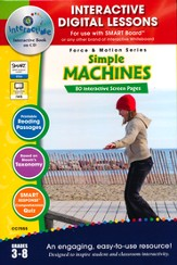 Simple Machines Interactive Digital Lessons on CD-ROM Grades 3-8