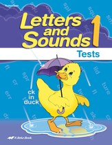 Letters and Sounds 1 Student Test Book