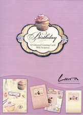 Life is Sweet Birthday Cards, Box of 12