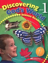 Discovering God's World--Grade 1 Science Reader