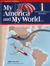 My America and My World Grade 1 History/Geography Teacher Edition