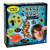 Creepy Bugs Window Art Kit