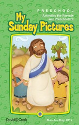 Bible-in-Life Preschool Sunday Pictures, Spring 2016