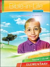 Bible-in-Life Elementary Teacher's Guide, Spring 2014