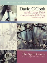 Bible-in-Life Adult Comprehensive Bible Study Large Print Student Book, Spring 2015