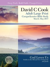 Bible-in-Life Adult Comprehensive Bible Study Large Print Student Book, Spring 2016