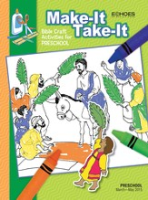 Echoes Preschool Make It Take It (Craft Book), Spring 2015