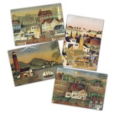 Americana Blank Cards, Box of 12